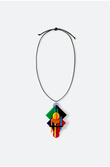 Layered Shapes Necklace