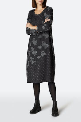 Photo of Boucle Rose Patchwork Dress