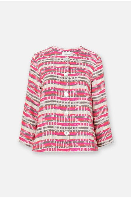 Abstract Weave Jacket