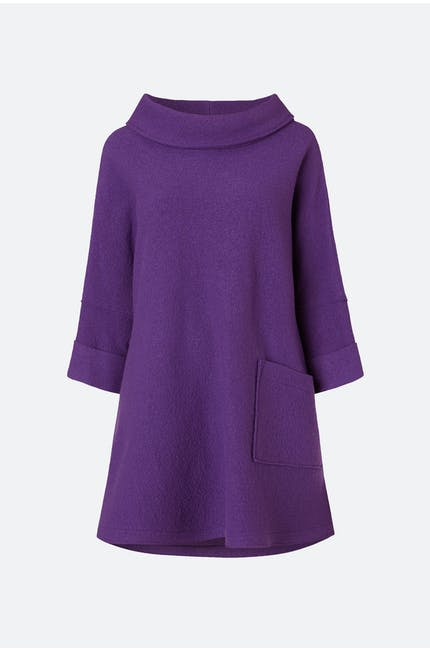 Boiled Wool Tunic