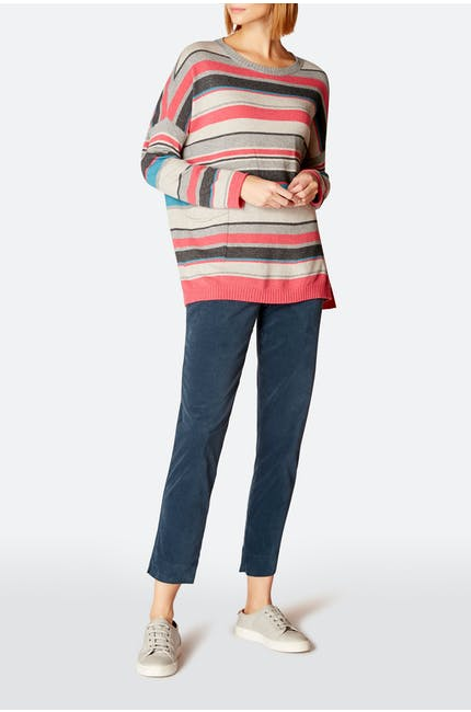 Multi Colour Stripe Sweater