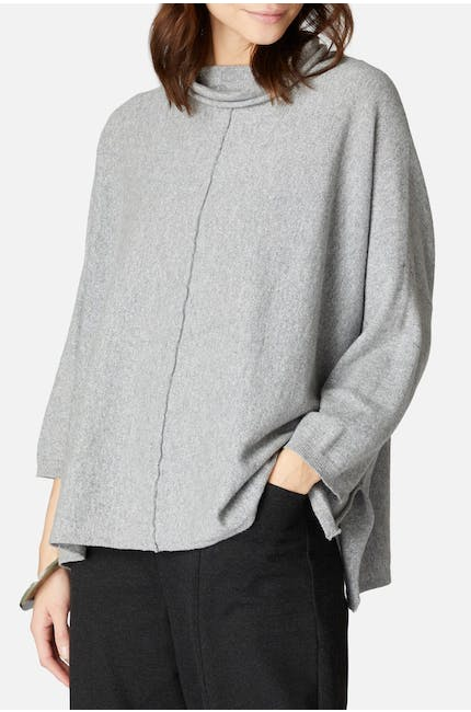 Photo of Cashmere Blend Roll Neck Knit