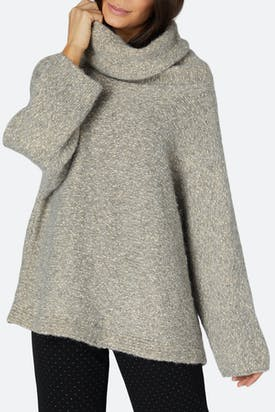 Photo of Tweedy Roll Neck Sweater