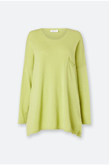 Cashmere Blend Pocket Sweater