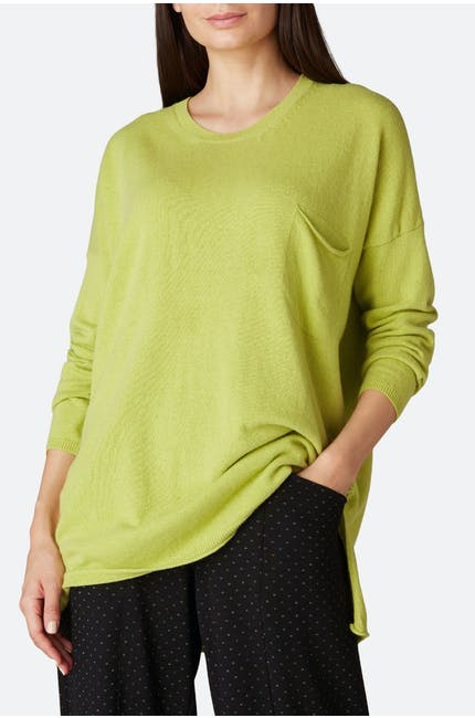 Photo of Cashmere Blend Pocket Sweater