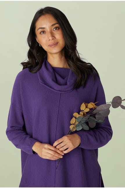 Photo of Cashmere Blend Cowl Neck Sweater