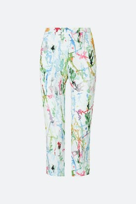 Photo of Squiggle Paint Linen Trouser