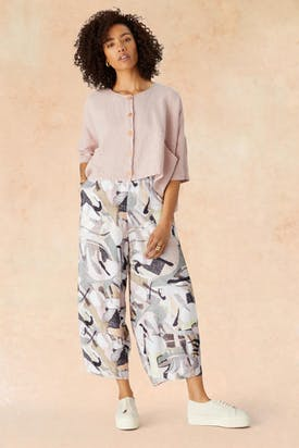 Photo of Abstract Silk Pant