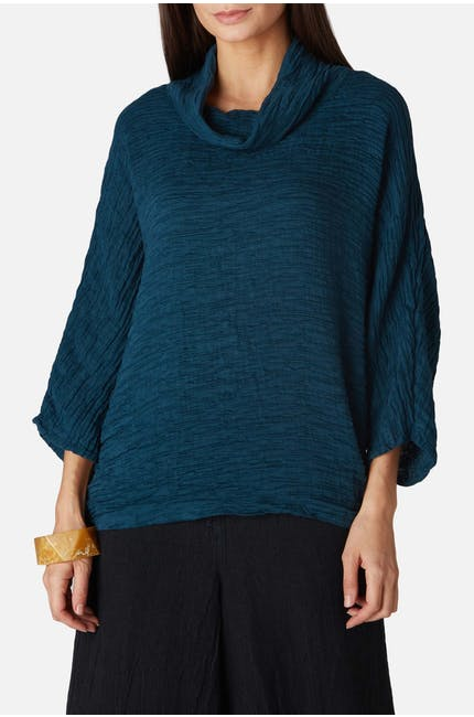 Photo of Long Cowl Neck Top