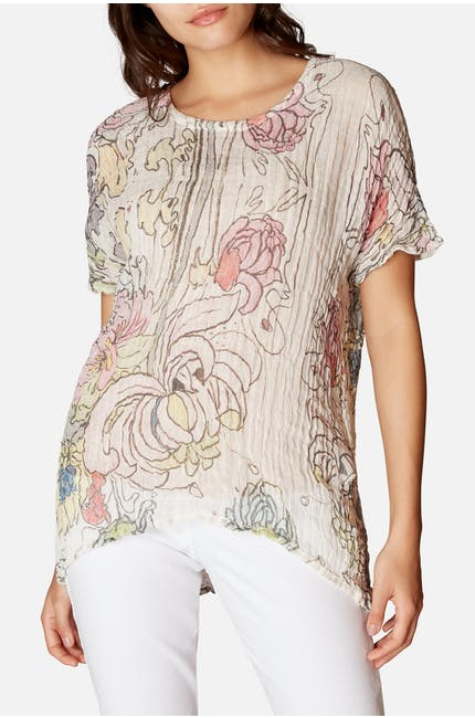 Grizas Floral Top