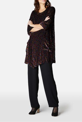 Photo of Dot Velvet Tunic
