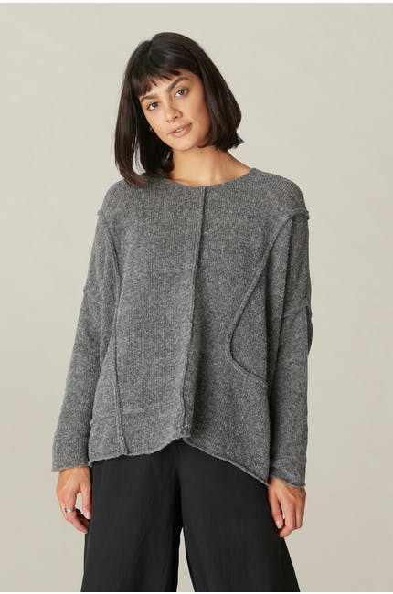 Photo of Seamed Knit Top