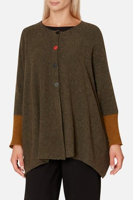 Photo of Red Button Cardi