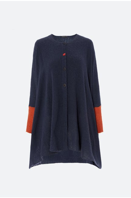 Grizas Red Button Cardi