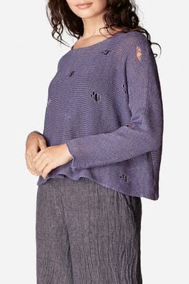 Photo of Drop Stitch Knitted Jumper