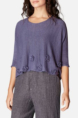 Photo of Rose Hem Knitted Jumper