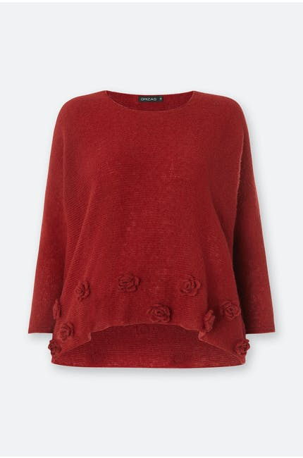 Photo of Rose Hem Knit Top