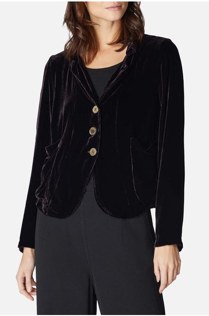 Photo of Fitted Velvet Jacket