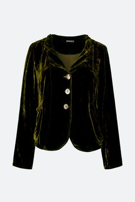 Photo of Velvet Fitted Jacket