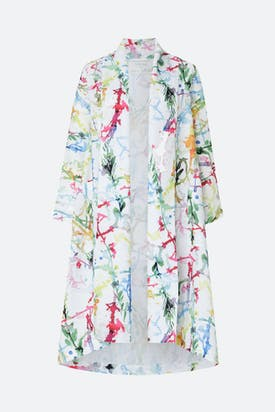 Photo of Squiggle Paint Linen Jacket