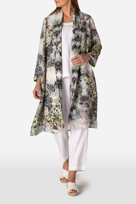 Photo of Floral Waterfall Jacket