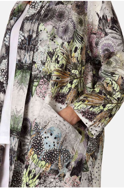 Floral Waterfall Jacket