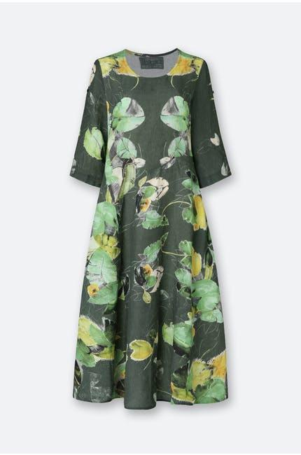 Photo of Leaf Print Dress