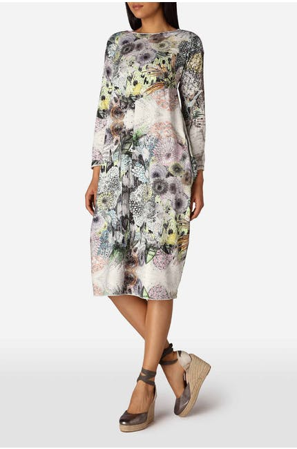 Photo of Floral Jersey Dress