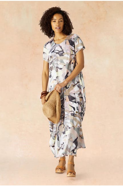 Photo of Abstract Silk Dress