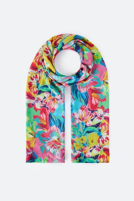 Photo of Summer Floral Print Scarf