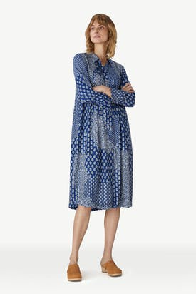 Photo of Indigo Block Print Dress