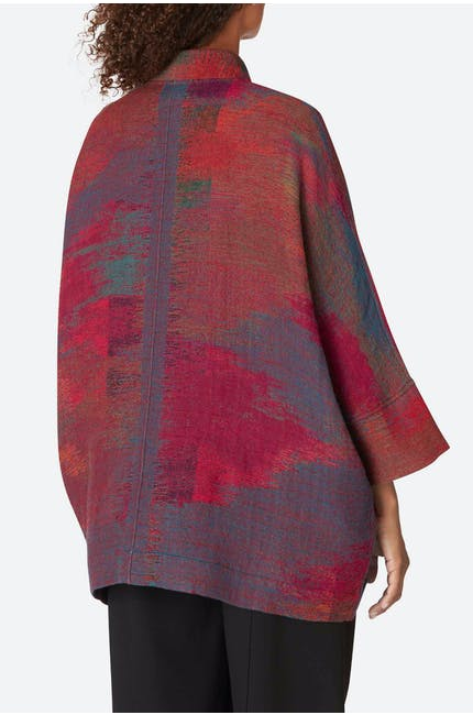 Ikat Indian Blanket Jacket