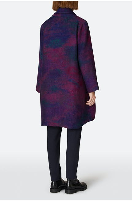 Ikat Indian Edge To Edge Coat