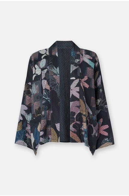 Stitched Cut Out Jacket