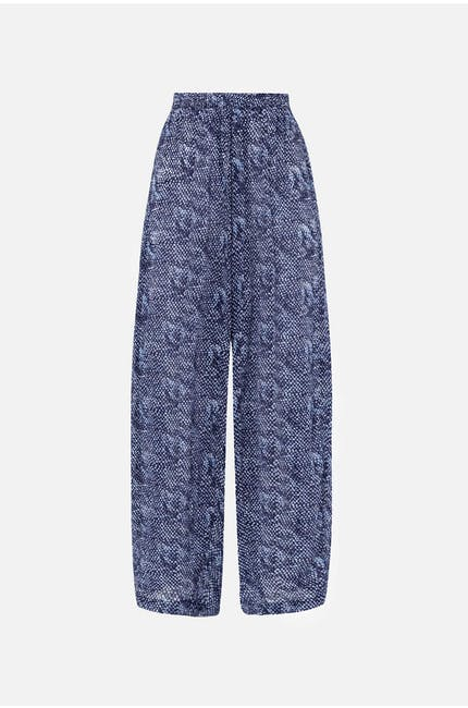 Photo of Bandini Print Wide Leg Trouser