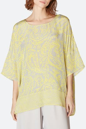 Photo of Aegean Print Boxy Top