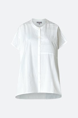 Photo of Cotton Pleat Voile Shirt