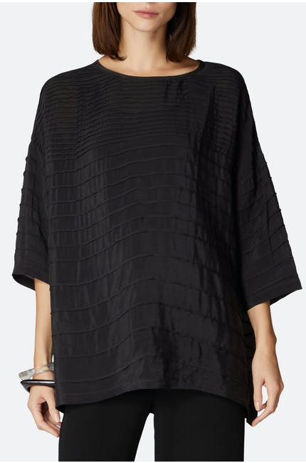 Photo of Pleated Viscose Boxy Top