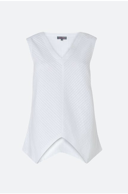 Photo of Cotton Pleat Voile Vest