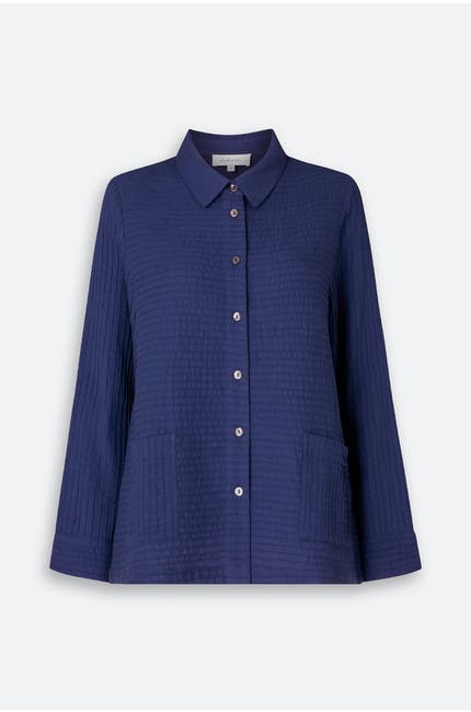 Photo of Soft Cotton Pintuck Shirt