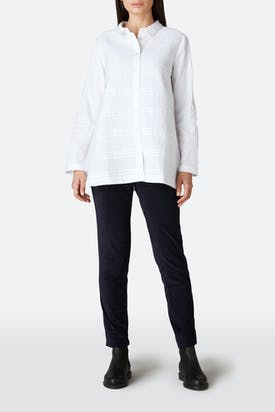 Photo of Pintuck Cotton Shirt
