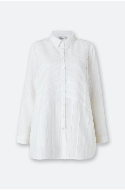 Photo of Pintuck Linen Shirt
