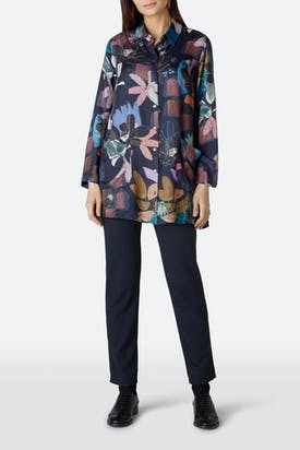 Photo of Cut Out Floral Shirt