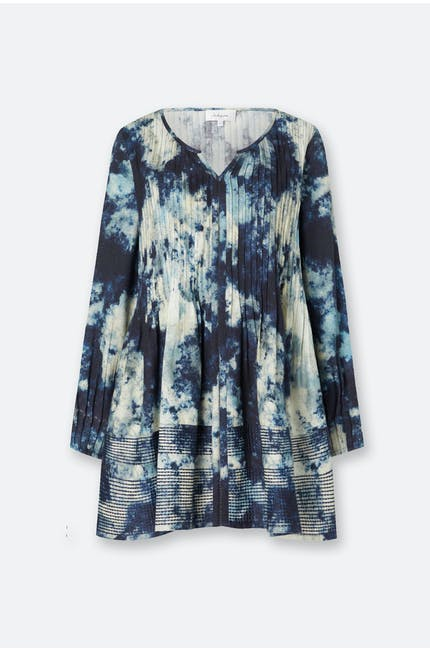 Photo of Night Sky Print Pintuck Tunic