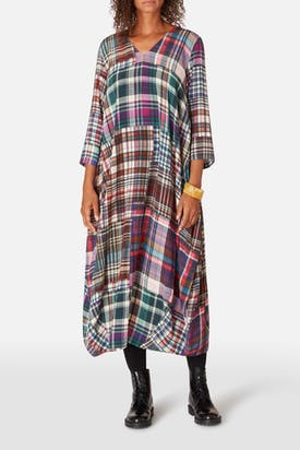 Photo of Multi Coloured Tartan Dress