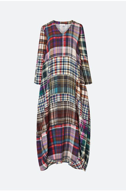 Multi Coloured Tartan Dress