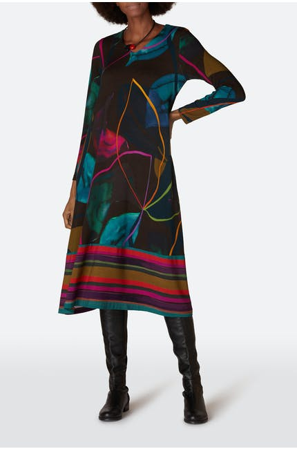 Photo of Abstract Petal Print Dress
