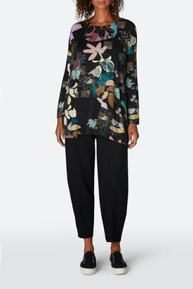Photo of Sketch Floral Jersey Top
