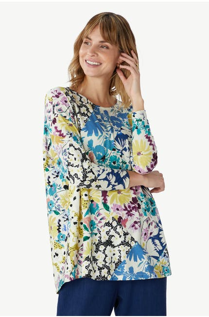 Photo of Floral Collage Top