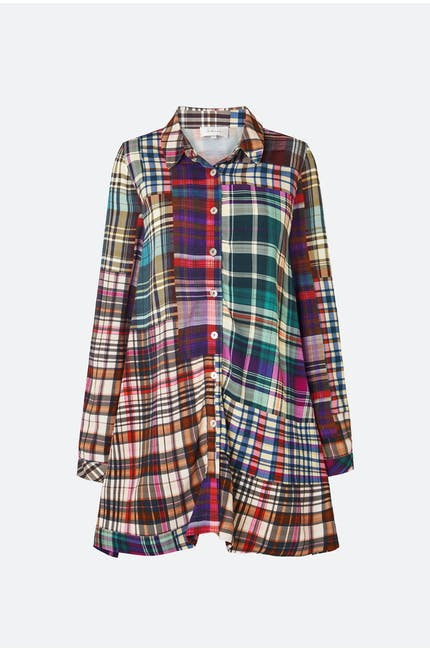 Multi Coloured Tartan Shirt